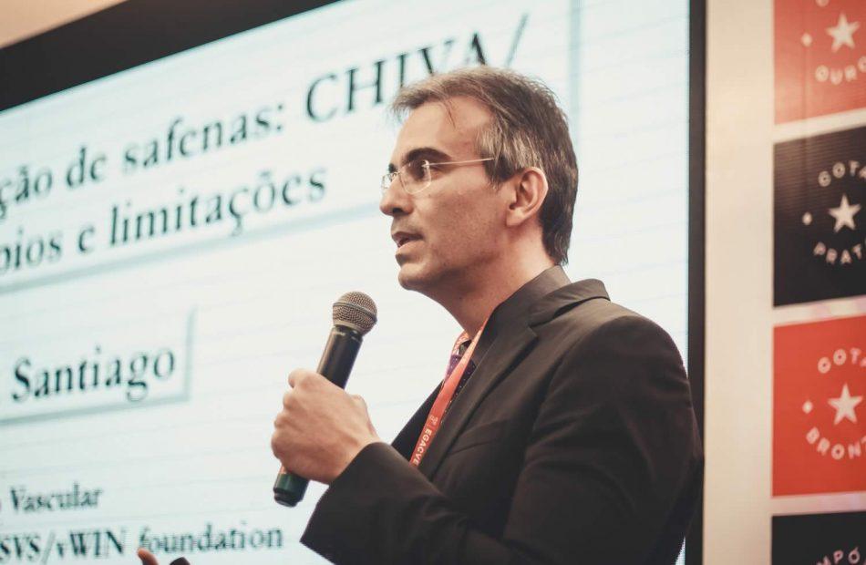 Dr. Fabricio Santiago no EGACVE - Encontro Goiano de angiologia e cirurgia vascular